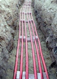 прокладка силовых кабелей. Пермские электрики.