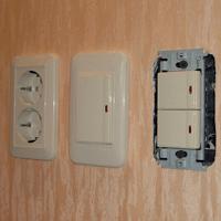 Монтаж, ремонт, замена выключателей Пермь